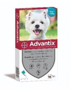 PIPETA ADVANTIX PERRO (4 PIPETAS) BAYER