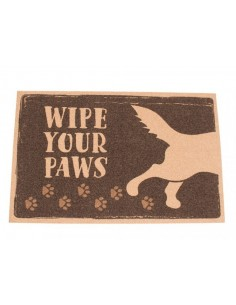 "ALFOMBRA - FELPUDO ""WIPE YOUR PAWS"""