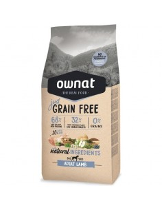 JUST GRAIN FREE ADULTO CORDERO. OWNAT