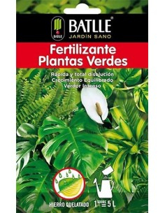 FERTILIZANTE PLANTAS VERDE