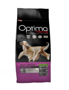 OPTIMA NOVA MEDIUM ADULTO POLLO Y ARROZ