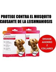 2 COLLARES ANTIPARASITOS CANISHIELD